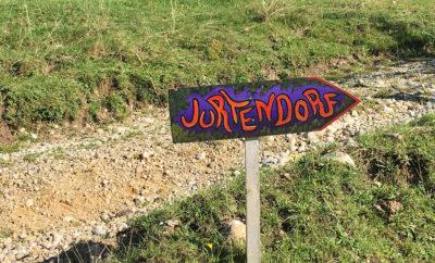 Besuch im Jurtendorf in der Schweiz…