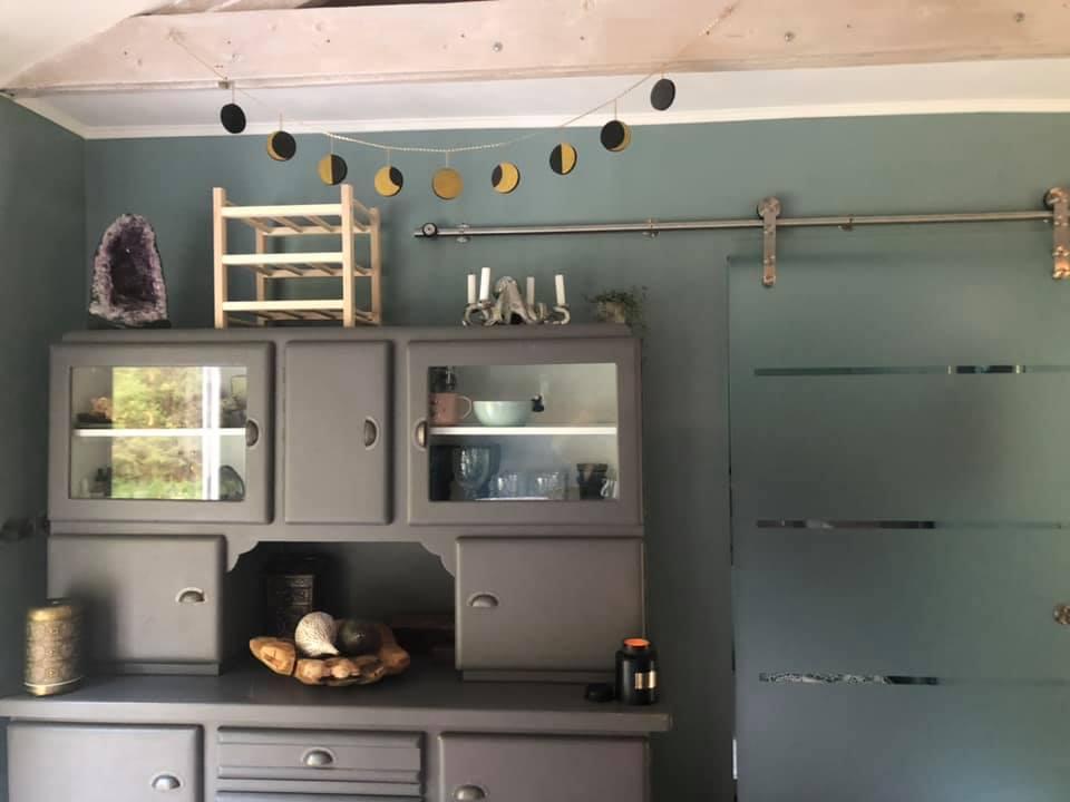 Küche im Jagdhaus